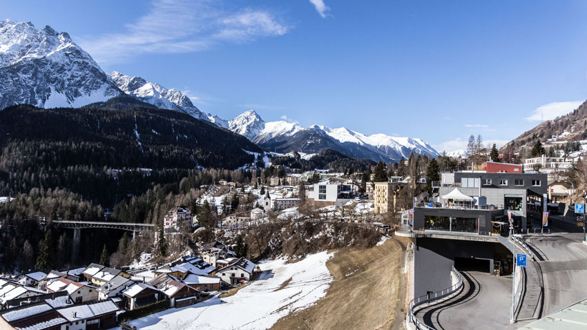 Scuol im Winter
